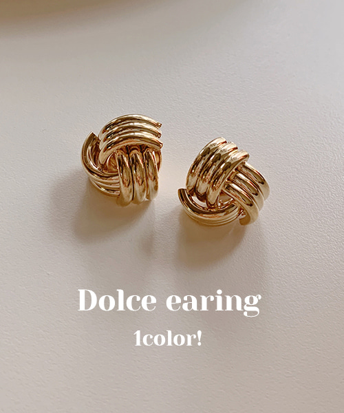 돌체earring(1color)